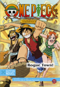 Cover des Buches One Piece Rogue Town
