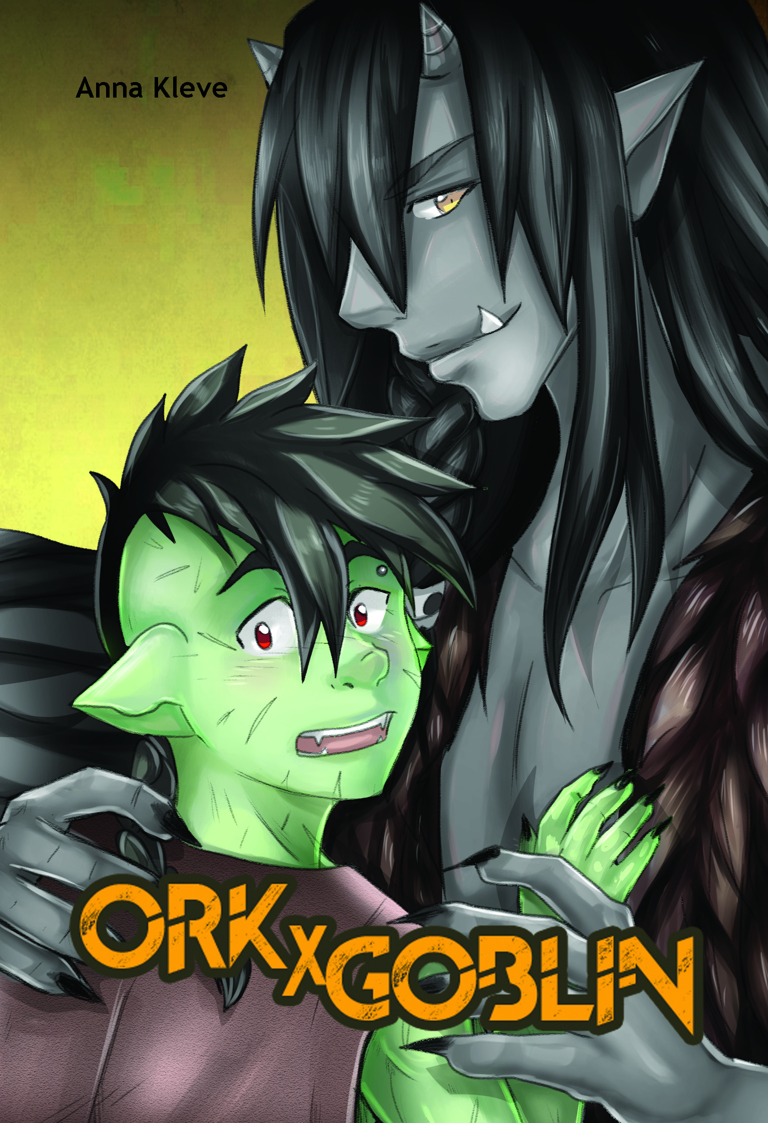 Cover der Light Novel Ork X Goblin