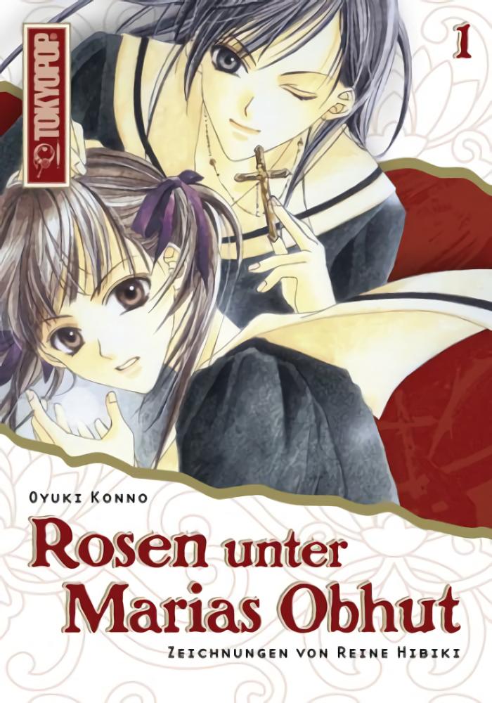 Cover des 1. Bandes von Rosen unter Marias Obhut - Light Novel