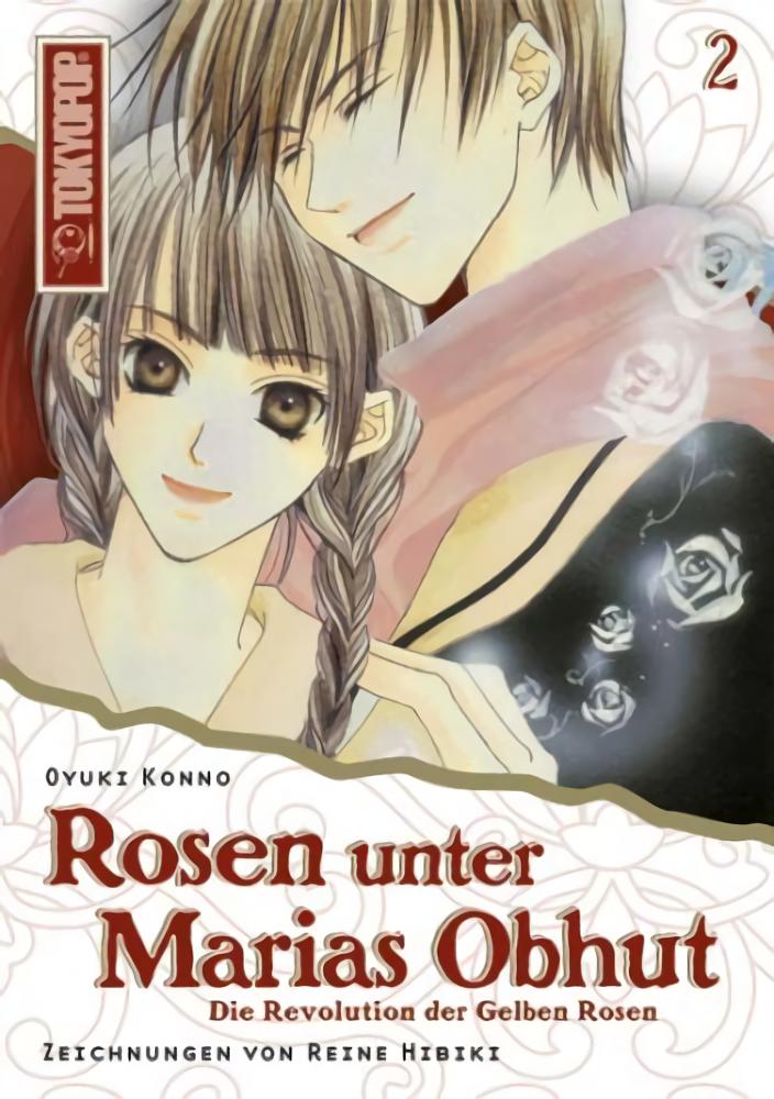 Cover des 2. Bandes von Rosen unter Marias Obhut - Light Novel