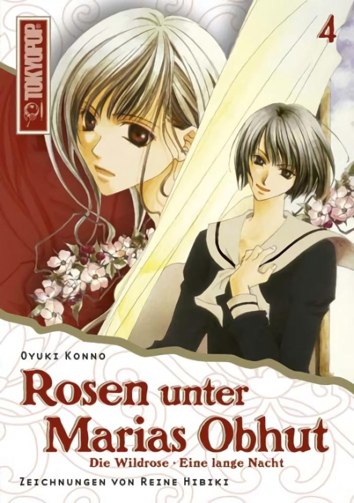 Cover des 4. Bandes von Rosen unter Marias Obhut - Light Novel