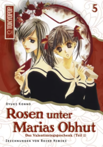 Cover des 5. Bandes von Rosen unter Marias Obhut