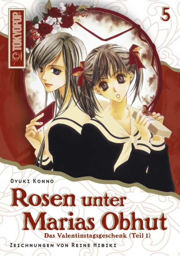 Cover des 5. Bandes von Rosen unter Marias Obhut - Light Novel