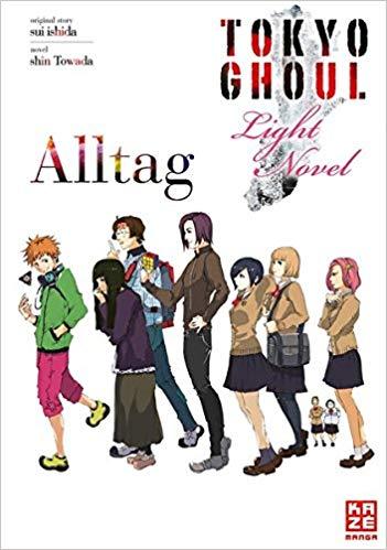 Cover des 1. Bandes von Tokyo Ghoul: Alltag - Light Novel