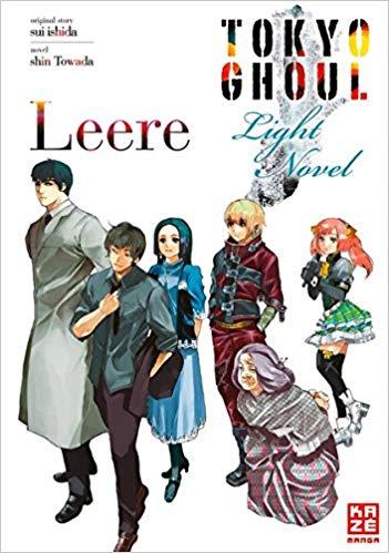 Cover des 2. Bandes von Tokyo Ghoul: Leere - Light Novel