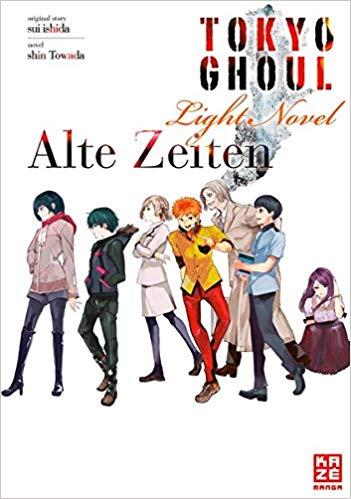 Cover des 3. Bandes von Tokyo Ghoul - Light Novel