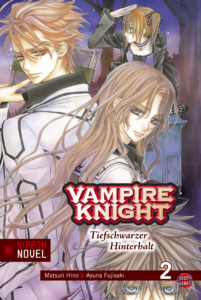 Cover des 2. Bandes von Vampire Knight