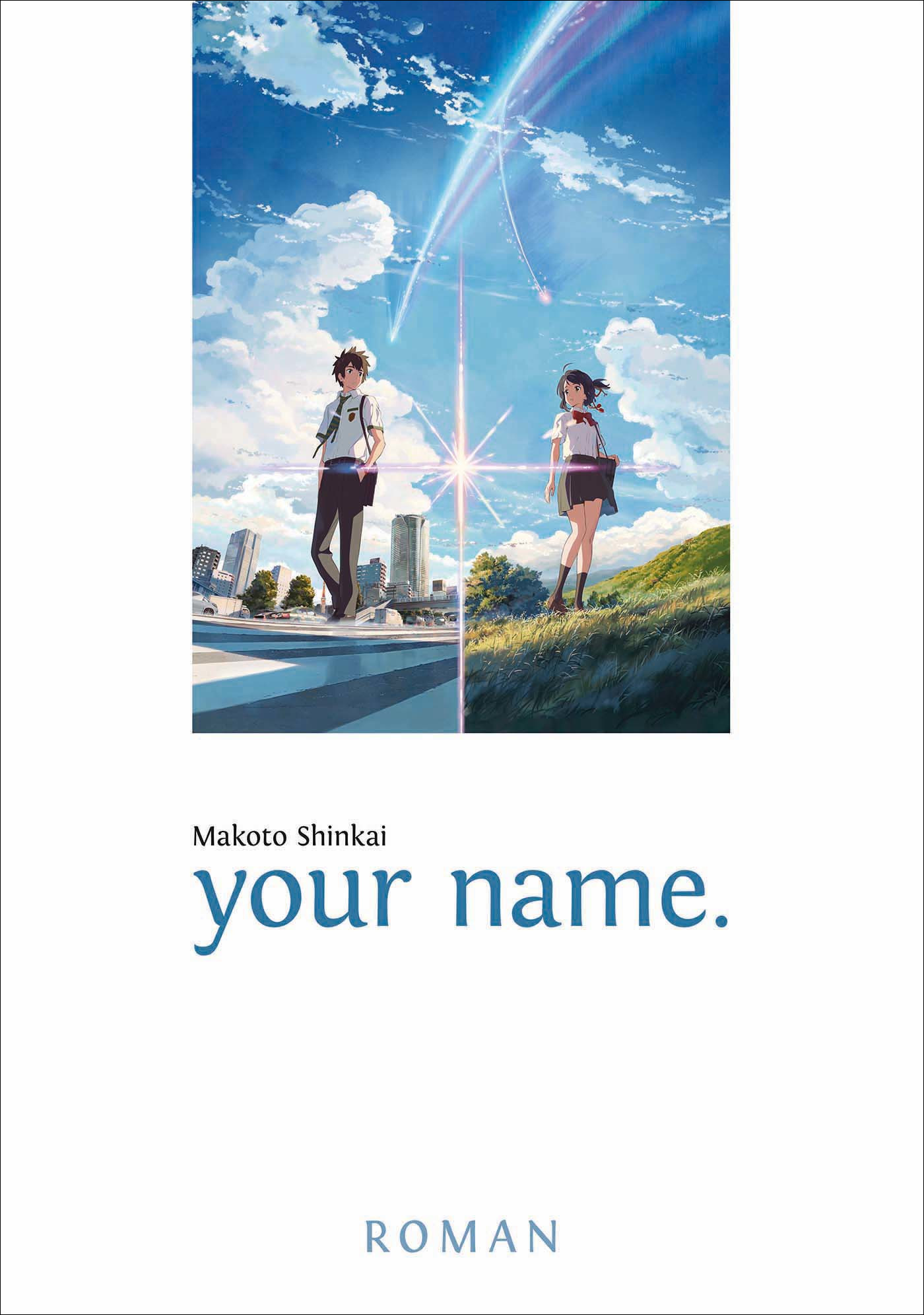 your name. Cover