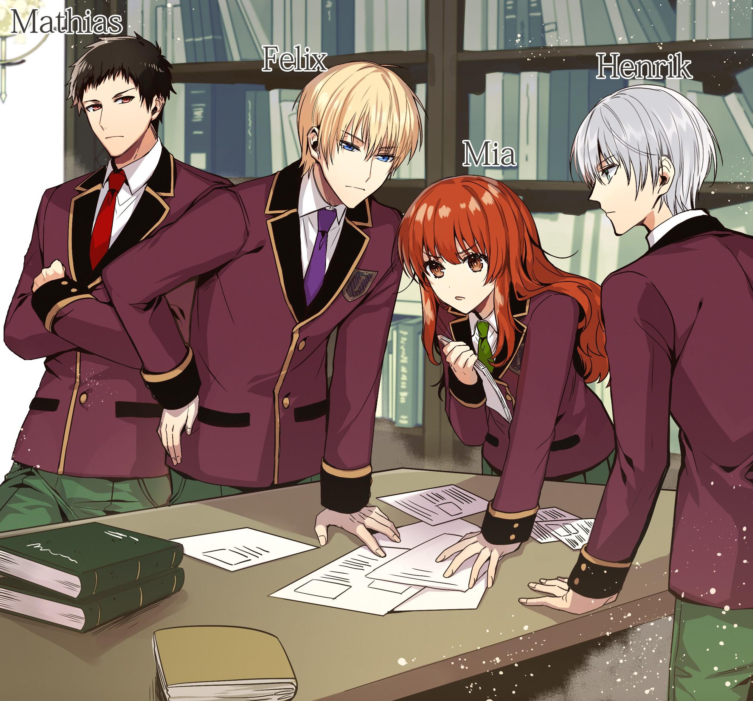 ein Blick auf die Charaktere aus der Light Novel