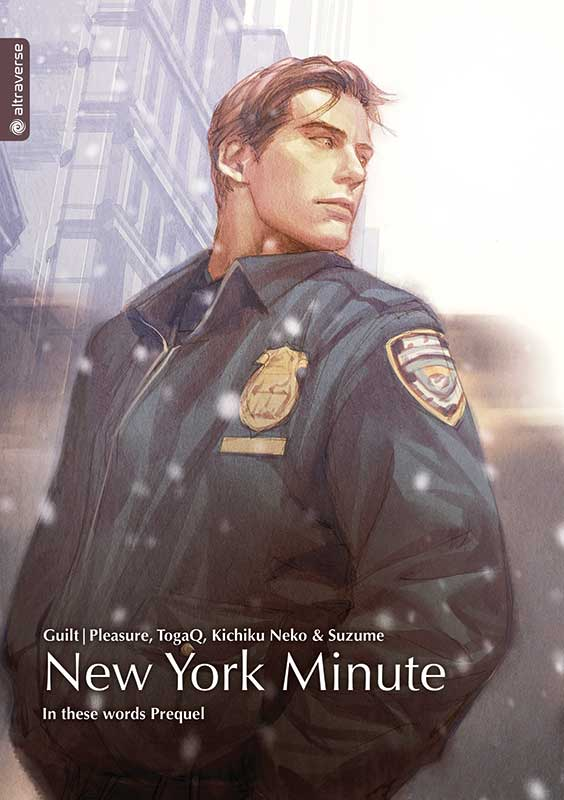 Cover des Bandes von In These Words - Light Novel - New York Minute