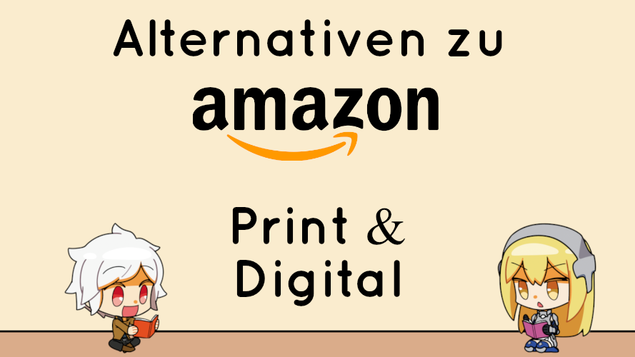 Titelbild zum Artikel Alternativen zu amazon für Light Novel Käufer in Deutschland