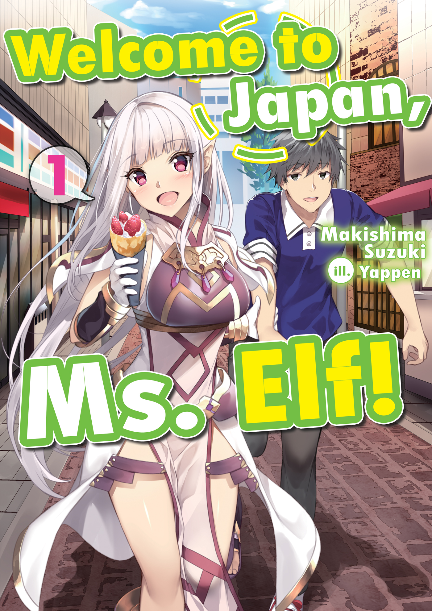 Cover des 1.Bandes von Welcome to Japan, Ms. Elf!
