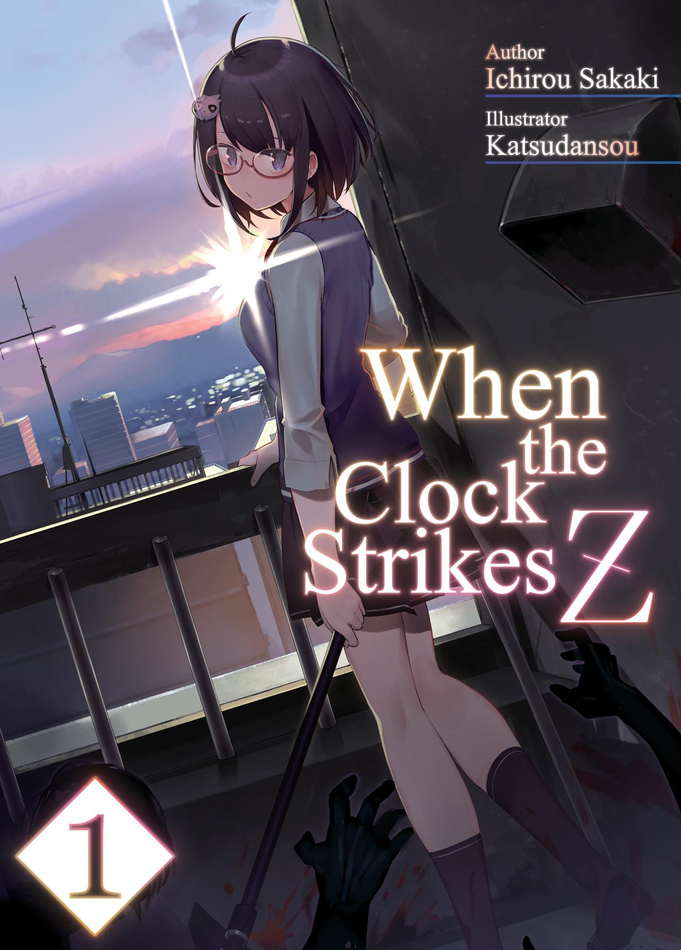 Cover des 1. Bandes von When the Clock Strikes Z