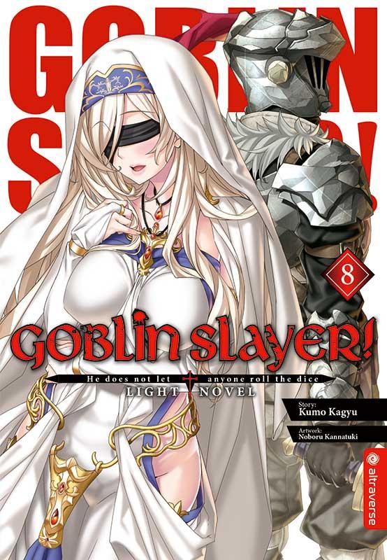 Cover des 8. Bandes von Goblin Slayer