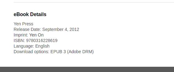 Ein Screenshot aus dem Store von rakuten kobo vom 21.04.2021